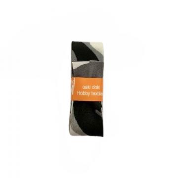Oaki Doki Schrägband Summer Collection - Military Grey - 2m