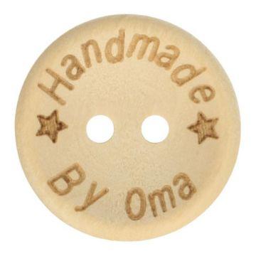 Knöpfe Holz 20mm  - Handmade By Oma
