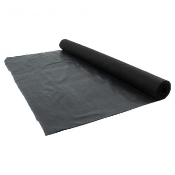 Aufbügelvlies Baumwolle 115 cm - Schwarz