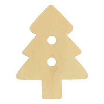 Knöpfe 15mm - Christmas Tree