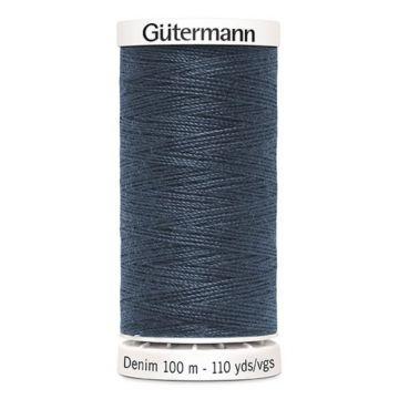 Gütermann Denim-7635 Jeansblue