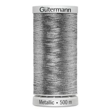 Gütermann Metallic 500 meter-7009 Silver