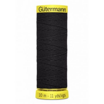 Gütermann Elasticfaden-4017 - Black