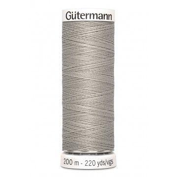 Gütermann 200 meter naaigaren - grijs beige