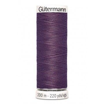 Gütermann 200 meter naaigaren - donker mauve