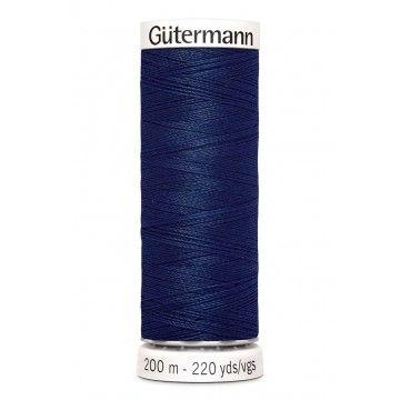 Gütermann 200 meter naaigaren - donker blauw