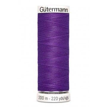 Gütermann 200 meter naaigaren - helder paars