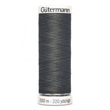 Gütermann 200 meter naaigaren - antraciet