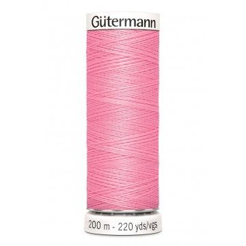 Gütermann 200 meter naaigaren - roze