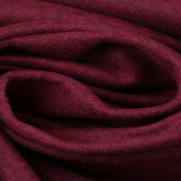 Bordeaux gemêleerde wol