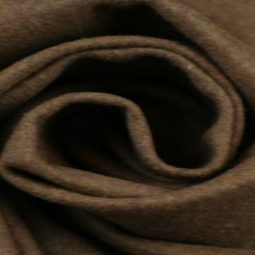 Reebruine gemêleerde wol