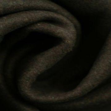 Donker bruine gemêleerde wol