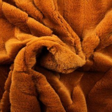 midden grijze Faux Fur Deluxe