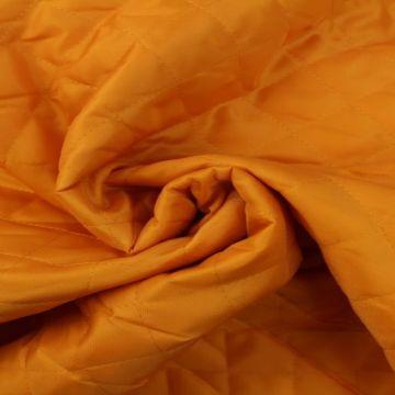 Gewatteerde en Doorgestikte Voering - Zacht Oranje
