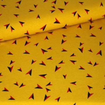 Megan Blue: Arrows on Ocher