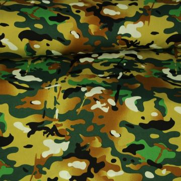 In the Army on Dark Green