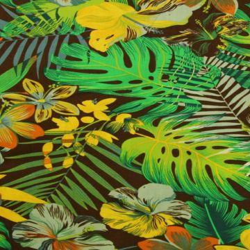 Jungle Floral - Brown