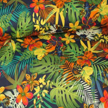 Jungle Floral - Blue