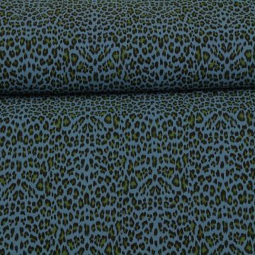 Stonewashed - Leopard SteelBlue