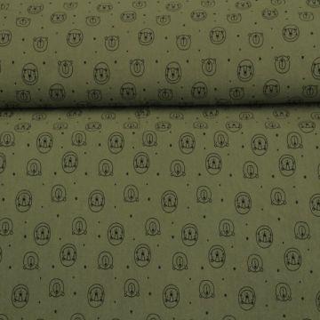 Stonewashed - Bears Army Green