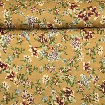 Cotton Viscose - Desert Flowers