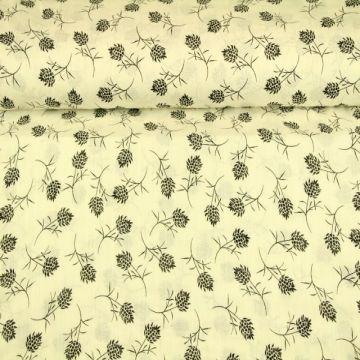 Cotton Viscose - A Simpel Flower