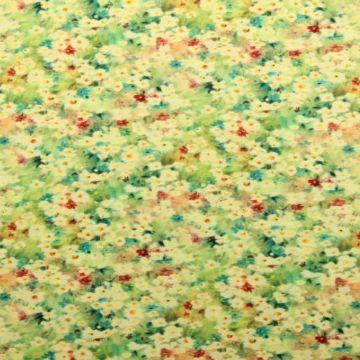 Leinen Deluxe - Field of Flowers