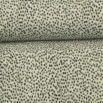 Musselin - Spots Light Grey