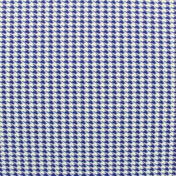 Lycra - Pied de poule blue