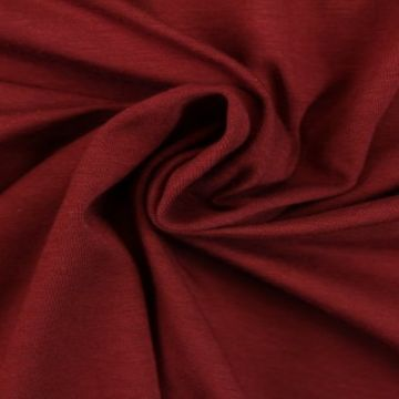 Katoenen Tricot - Raspberry Red