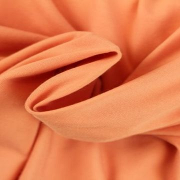 Katoenen Tricot - Fresh Peach