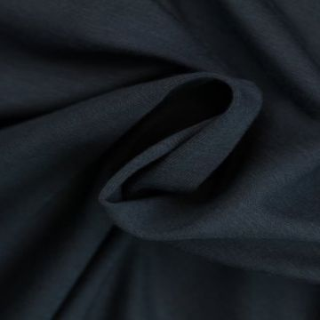 katoenen tricot navy