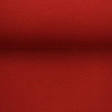 katoenen tricot bloody red