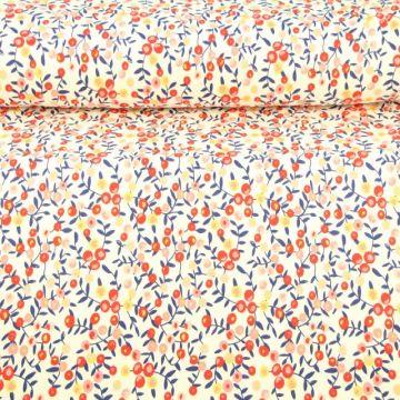 zomerse tricot met bessen print