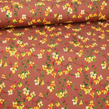 Little Mexican Floral on Plum