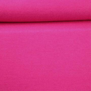 brushed wool fel roze