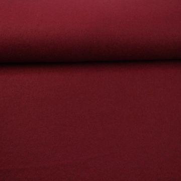 brushed wool Bordeaux