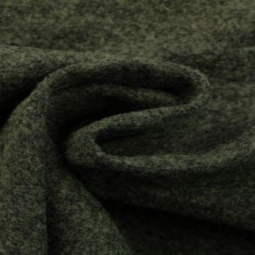 brushed wool antraciet melange
