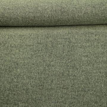 brushed wool grijs melange