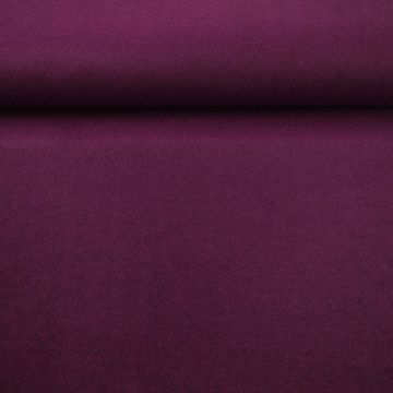 brushed wool warm paars