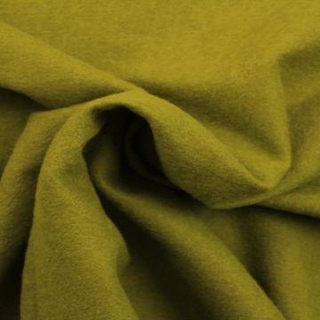Brushed wool varen groen