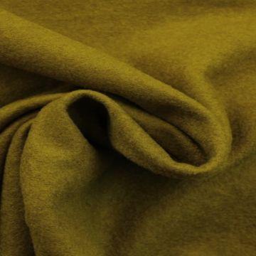 brushed wool olijf