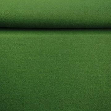 brushed wool gras groen