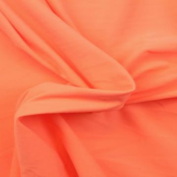 Lycra Baumwolle - Bright Peach Extra Breit