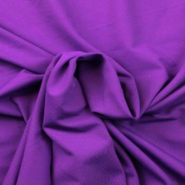 Lycra Baumwolle - Funky Purple Extra Breit