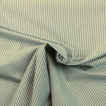 Baumwolle - Stripes Light Denim