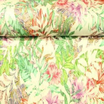 Viskose Tricot - Blooming