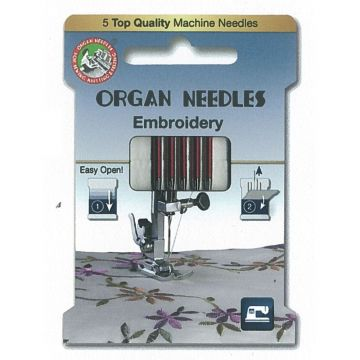 Organ Embroidery 75-90