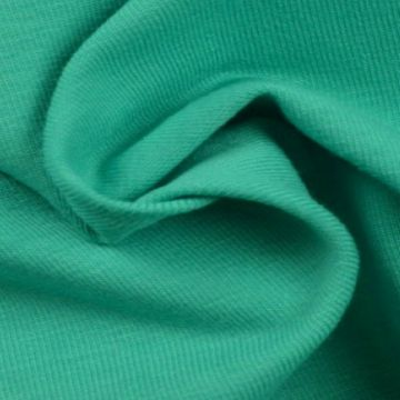 katoenen tricot turquoise