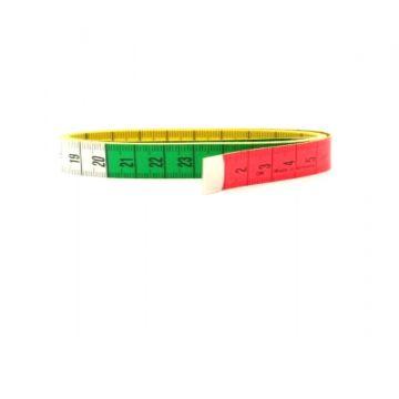 luxe meetlint rood groen geel